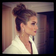Perfect hair - love this girl!
