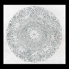 Celtic Knots 101 - Working in a Circle - WetCanvas