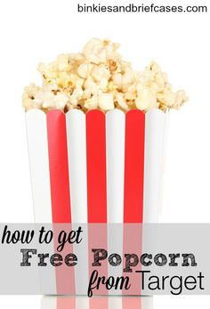 Did you know that some Target stores give kids a free bag of popcorn for following a certain safety rule? Yep. And you're probably already doing it anyway!