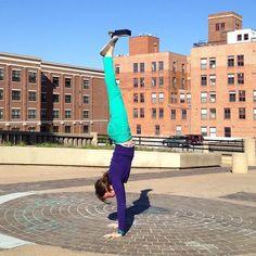 handstands around the world: center of the universe, tulsa, oklahoma