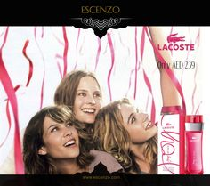 Buy Lacoste Joy of Pink for women our price 239 AED only. Click here to order: http://escenzo.com/lacoste/lacoste-joy-of-pink-edt-90ml  اشتر الآن عطر لاكوست جوي اوف بينك للنساء بسعر 239 درهم فقط, اضغط هنا للحصول عليه http://escenzo.com/lacoste/lacoste-joy-of-pink-edt-90ml