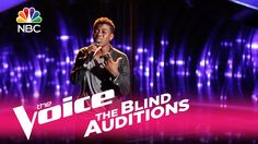"""The Voice 2017 Blind Audition - Quizz Swanigan: """"Who's Loving You"""""""