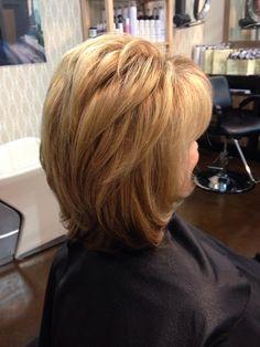 Base color/weave/cut/treatment/blowout by Z Nevaeh Salon www. Thin Hair Cuts, Medium Hair Cuts, Medium Hair Styles, Short Hair Styles, Messy Short Hair, Short Hair With Layers, Hair Maintenance Tips, Layerd Hair, Mid Length Hair