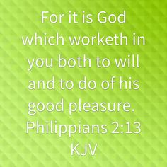 For it is God...