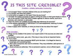 Is it Credible (c) Kristen Dembroski