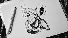 Deadpool, marvel, loveit ❤