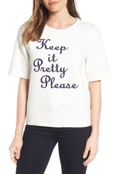845ab4c7383bf Keep it Pretty Please Sweatshirt (Nordstrom Exclusive) Ross Store