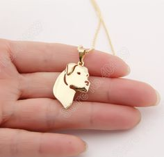 1pcs 2020 Dogo Argentino Necklace Dog Lover Paw Print Memorial Tag Pet Gift Necklaces Pendants Silver Plated Choker Women #Affiliate