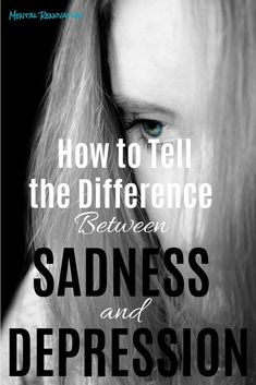 Sadness and depression can sometimes be confused. There are factors you have to take into consideration in order to form a distinction between the two. Learn how to tell the difference between sadness and depression. Types Of Mental Health, Mental Health Resources, Mental Health Disorders, Mental Health Issues, Mental Health Awareness, Sensory Processing Disorder, Postpartum Depression, Bipolar Disorder, Toxic Relationships