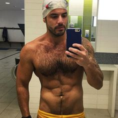 Let's go get wet! Visit this link for more http://gwip.me/385904 Don't forget to use our hashtag #guyswithiphones if you want to be featured. #muscles #abs #hairy #chest #jacked #handsome #gymspiration #hunk #swimmer #sexy #selfie #gwip #guyswithiphones
