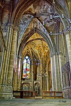 Saint-Etienne Cathedral, Metz, France