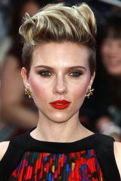 Scarlett Johansson- HarpersBAZAAR.com