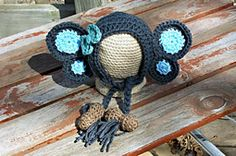 Peanut the Elephant Bonnet $3.50! Purchase 3 or more Bonnet patterns and get 25% off at checkout
