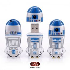 Memoria USB Star Wars R2-D2 / USB Flash Drives Star Wars R2-D2 · Tienda de Regalos originales UniversOriginal