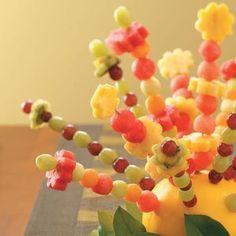 Fresh Fruit Centerpiece Recipe -—Taste of Home Cooking School