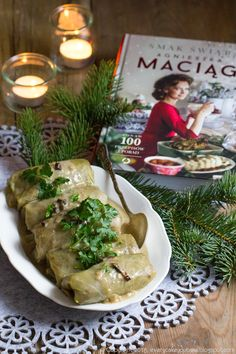 My Favorite Food, Favorite Recipes, Polish Christmas, Cabbage Rolls, Polish Recipes, Food Design, Bon Appetit, Food To Make, Good Food