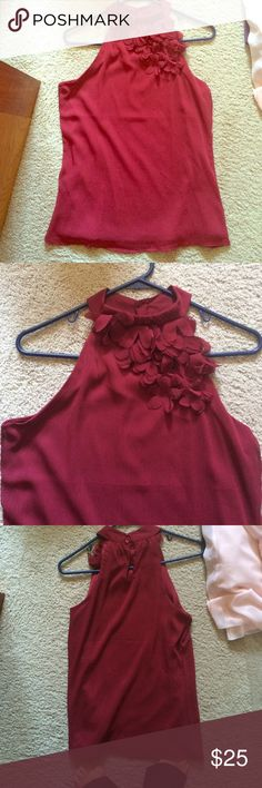 Maurices never worn dress top Super cute Maurice's dress top with ruffles! Maurices Tops Blouses
