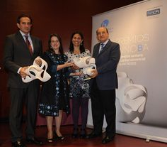 2012 INNOBA AWARDS - The winners are Dr. Alberto Sánchez Sobrino (Department of Trauma and Orthopaedic Surgery of the Galdakao-Usansolo Hospital) and the research team led by Dr. Remedios López Liria (University of Almería). More information: http://www.bioiberica.com/News/V272/S1/Una_aplicacion_medica_para_moviles_y_un_estudio_sobre_la_efectividad_de_la_rehabilitacion_domiciliaria_ganadores_de_los_1os_Premios_Innoba.html - Photo: © Bioibérica