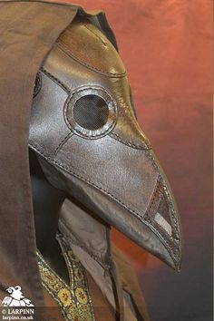 Plague Doctor Mask, Larp Inn- Healer