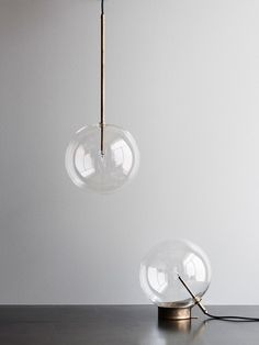 Bolle Pendant & Table Lamp