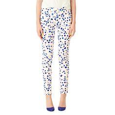 Utility Pocket Pants in Splatter Paint - Kate Spade Saturday   #pants