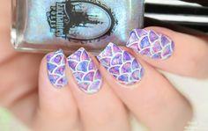 Simply Nailogical: Watercolour mermaid nails!
