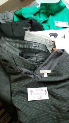 Ajustes em calças @bananarepublic @signs entre  outros.  Sim...tb fazemos ajustes em calças
