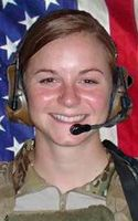 Army 1st Lt. Ashley I. White  Died October 22, 2011 Serving During Operation Enduring Freedom  24, of Alliance, Ohio; assigned to 230th Brigade Support Battalion, 30th Heavy Brigade Combat Team, North Carolina National Guard, Goldsboro, N.C.; died Oct. 22 in Kandahar province, Afghanistan, of wounds suffered when enemy forces attacked her unit with an improvised explosive device.