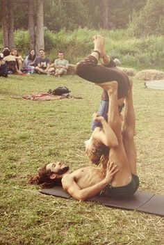 Acro Yoga in the Park