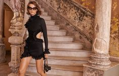 Giedre Dukauskaite jets to Cuba for the spring 2019 campaign from Zimmermann. The Australian fashion brand once again enlists Benny Horne to capture its latest… Fashion Brands, High Fashion, Women's Fashion, Australian Fashion Designers, Campaign Fashion, Little Dresses, Fashion Stylist, Editorial Fashion, Designer Dresses