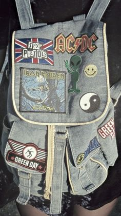I like the idea of patches on bags... Or on anything