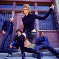 Metric is a Canadian indie rock and New Wave band founded in 1998 in Toronto. The band has also at various times been based in Montreal, London, New York City and for a short time Los Angeles.