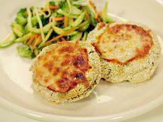 Comida sana y rica... Milanesas de Berenjena http://chuparselosdedos.com.ar/2013/08/milanesas-de-berenjena/