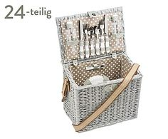 Picknickkorb Deauville für 4 Personen, 24-tlg., B 38 cm