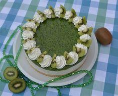 Cheesecake, Kiwi, Pasta, Food, Cheesecakes, Essen, Meals, Yemek, Cherry Cheesecake Shooters