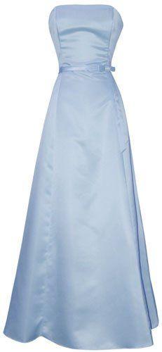 Unique light blue Long prom dresses with 50s vintage style