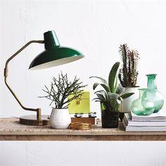 Desk table lamp - green - House Doctor