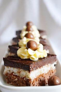 .. chute a vône mojej kuchyne...: Cokoladovo-kokosove kocky