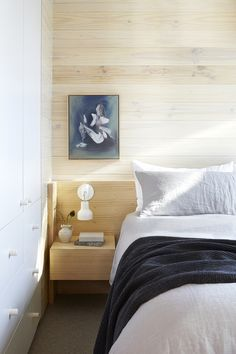 Light wood wall and