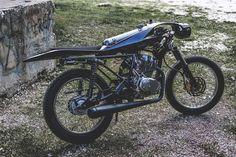 Custom Cafe Racer by Nikos Manafis design #motorcycles #caferacer #motos   caferacerpasion.com