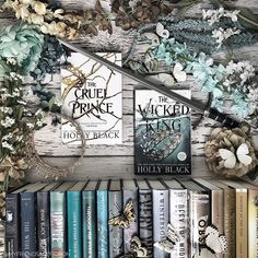 Have you read all of @blackholly s books? Ive read most of them but I havent read Tithe! I need to get on that soon. #thecruelprince and #thewickedking are two of my favorite books. I love everything about this series and characters! Has anyone heard of a pre-order incentive? I have my TWK pre-ordered already- do you? I have 3 hardcover copies of TCP- this is the UK one I got in my @fairyloot You can get the June Rebels in Ballgowns now! Use FRIENDS5 to save. #bookishombre #hollyblack…