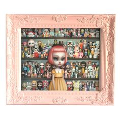 The Dolly Collector 8x10 Framed Limited Edition by mabgraves