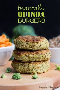 Do quinoa the honor of turning it into a superfood burger. Recipe here.