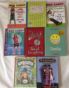 Book Lot 8 Cabot Series Rules For Girls Sister Vampire Girls Book English Roses
