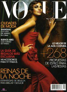 Fernanda Tavares Vogue Mexico December 2004