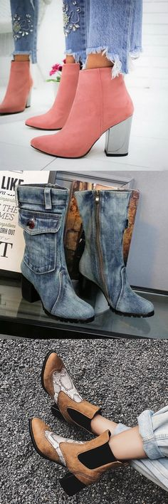 Large Selection of Trendy Women's Winter Boots