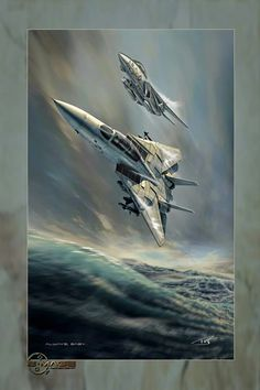 Papa & Wingman - Knight of Sea Military Jets, Military Veterans, Military Aircraft, Fighter Aircraft, Fighter Jets, Luftwaffe, Tomcat F14, Mileena, Airplane Art