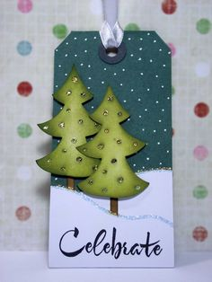 my inky corner: Last Christmas Tag - getting ready for the holidays. Noel Christmas, Christmas Gift Tags, Christmas Paper, Xmas Cards, Handmade Christmas, Winter Karten, Theme Noel, Handmade Tags, Winter Cards