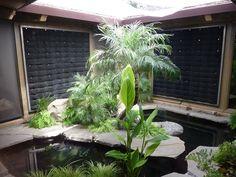 Florafelt vertical garden installation for a Los Altos Residence