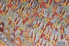 3. The Ladder of Virtue 15th century, fresco, Sucevita monastery, Romania